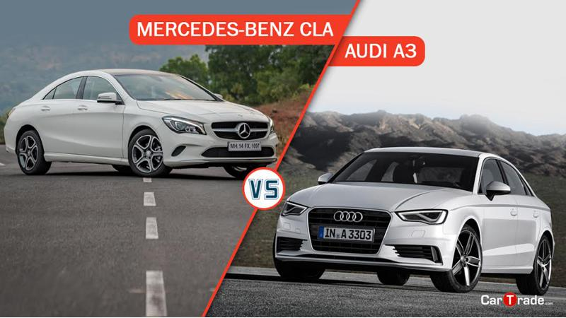 Audi A3 Vs Mercedes-Benz CLA - Spec comparison