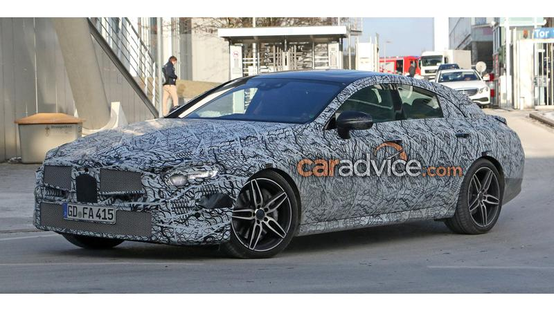 Mercedes-Benz continues to test the next CLS-Class