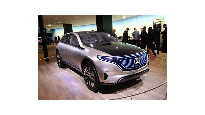 Mercedes-Benz registers a dozen monikers for EQ brand