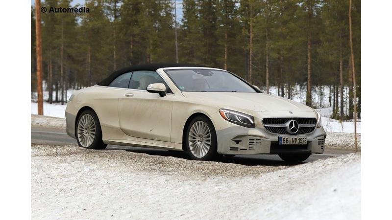 Facelifted S Class Cabriolet and Coupe to debut at Frankfurt this year