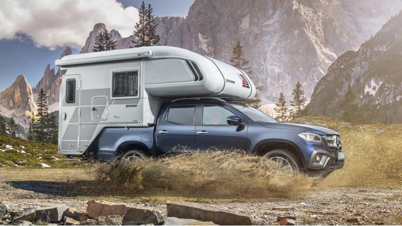 Mercedes-Benz X-Class introduced with camping additions