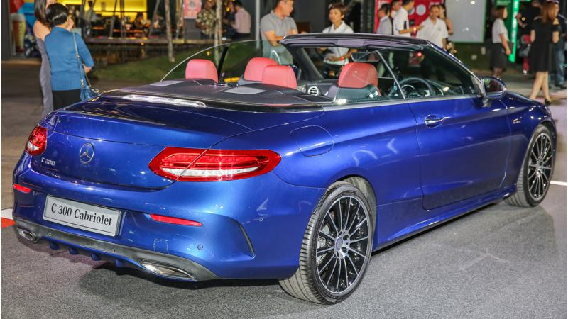 Mercedes-Benz Malaysia introduces the C-Class Cabriolet