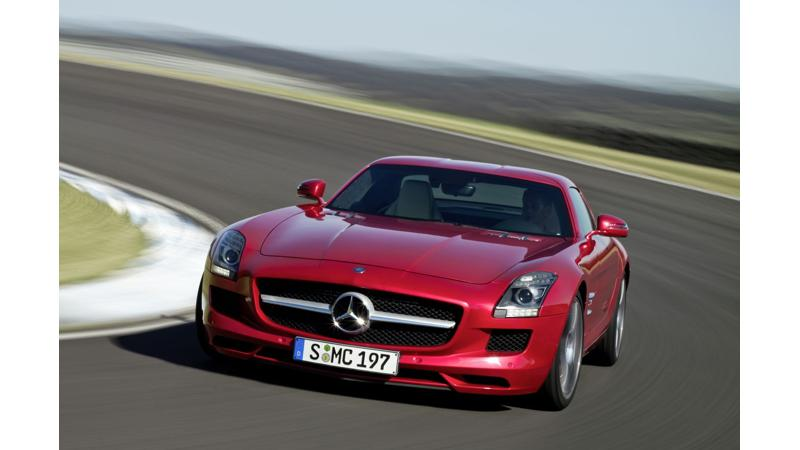 Mercedes-Benz SLS AMG becomes fastest production car at the BIC