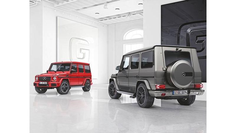 Two new special editions of the G-Class from Mercedes-Benz