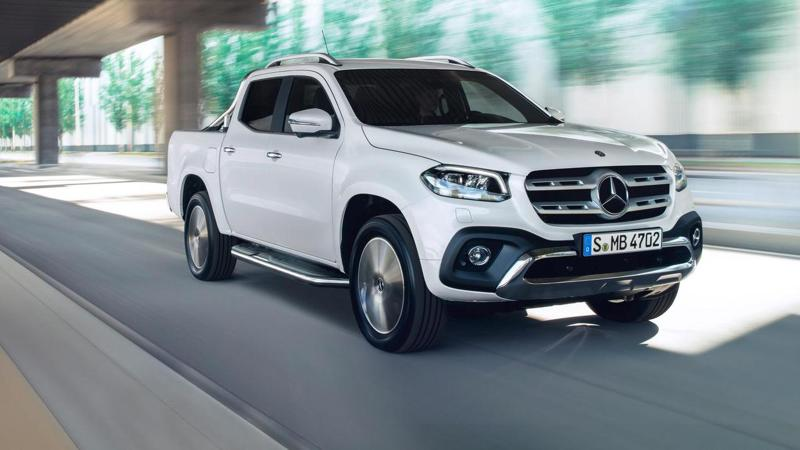 Mercedes unveils their X-Class pickup