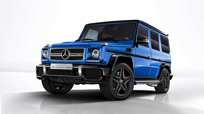 Mercedes-AMG offers G63 50th anniversary edition in Japan