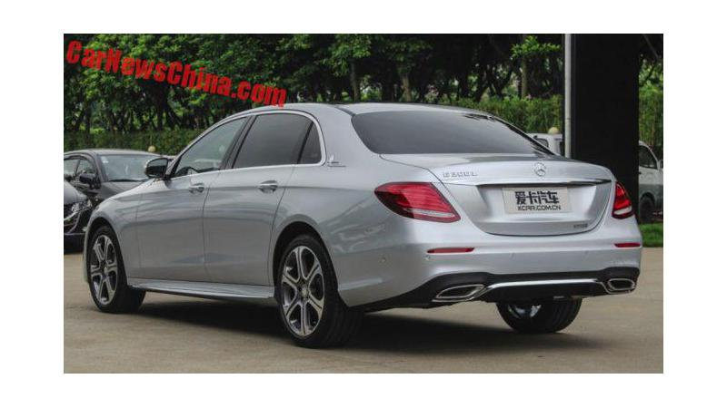 Mercedes E-Class L goes on sale in China