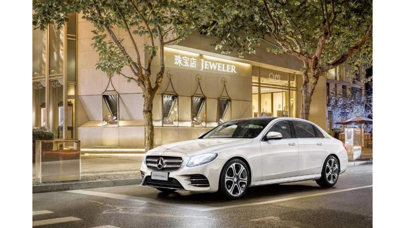 Mercedes E-Class Long Wheelbase premieres at the Beijing Motor Show
