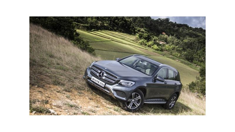 Made-in-India Mercedes-Benz GLC launch on September 29