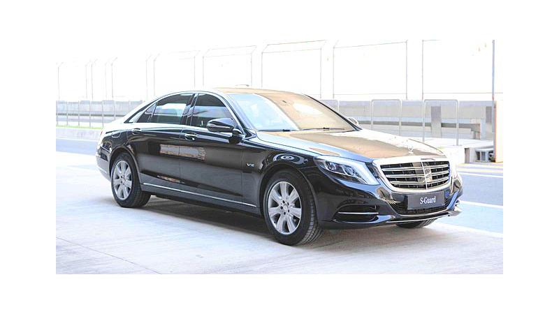 Mercedes-Maybach S600 Guard launching in India on 8th March, 2016