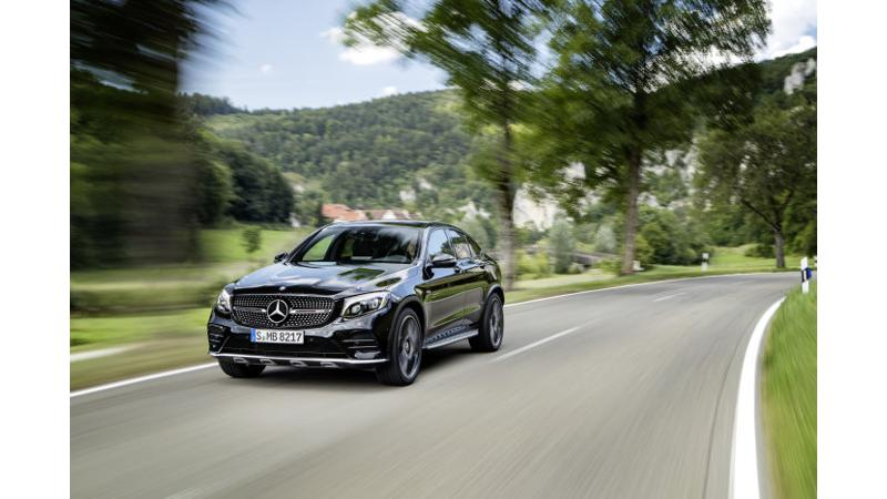 Mercedes-Benz to launch the GLC43 AMG Coupe in India on 21 July