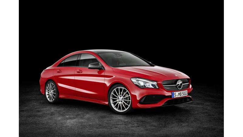 Mercedes to launch the CLA facelift in India tomorrow