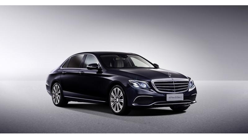 Mercedes-Benz India to sell new E-Class in long-wheelbase form