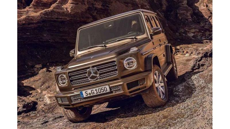 2019 Mercedes-Benz G-Class images leaked