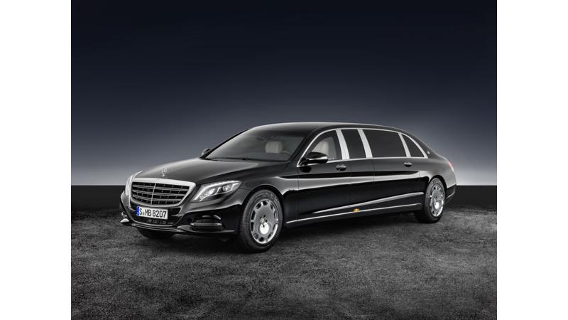 Mercedes Maybach reveals S600 Pullman Guard ahead of Paris 2016