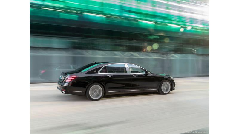 First Look: 2018 Mercedes Maybach S650