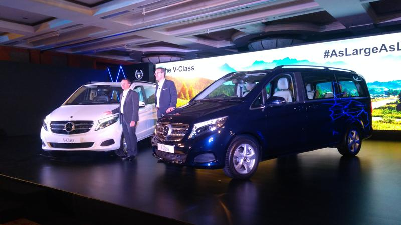 Mercedes-Benz launches V-Class in India at Rs 68.40 lakhs