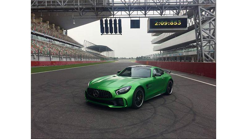Mercedes-AMG GT R becomes the fastest production car to lap BIC in record time