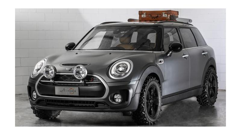 Mini Clubman All4 Scrambler - Beauty and the Beast in one