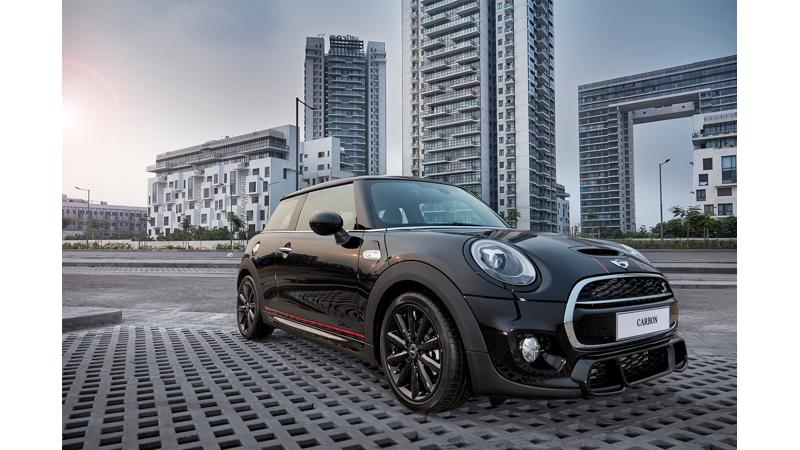 Limited edition Mini Cooper Carbon Edition launched for Rs 39.9 lakh, booking exclusively available on Amazon