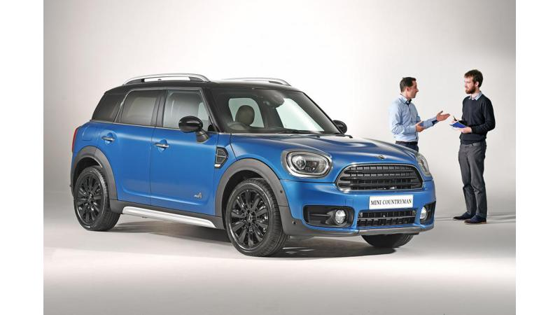 New 2017 Mini Countryman revealed globally
