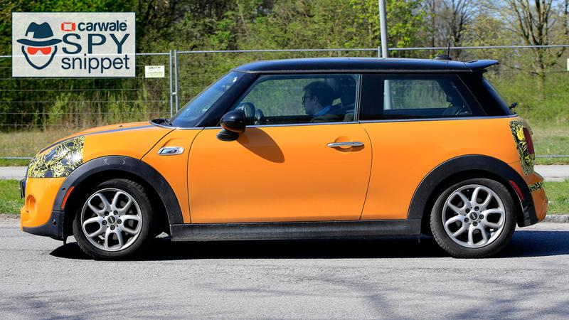 Mini Facelift spied in Germany