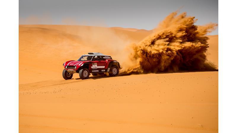 Mini reveals their 2018 Dakar Rally cars