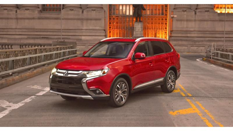 Mitsubishi Outlander: Top features