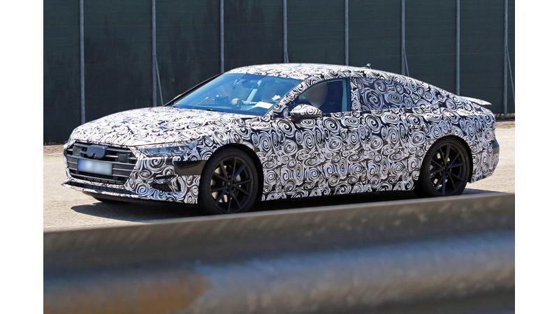New Audi A7 spotted on test