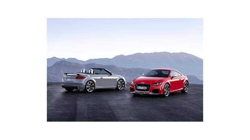 New Audi TT RS due for launch in UK in coming days