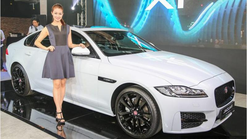New Jaguar XF launched in Malaysia