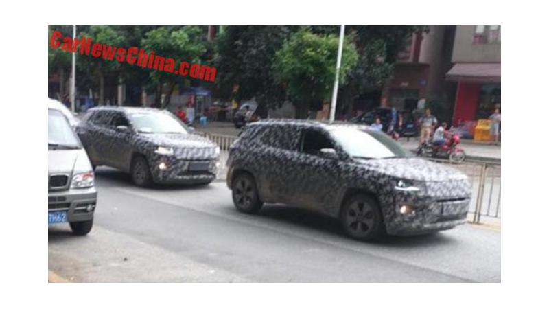 New Jeep Compass spotted on test
