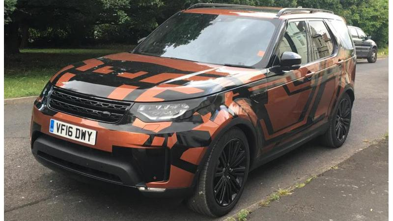 New Land Rover Discovery spied ahead of unveil later this year
