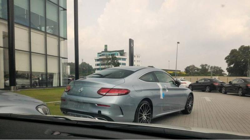 New Mercedes C-Class Coupe lands in Malaysia
