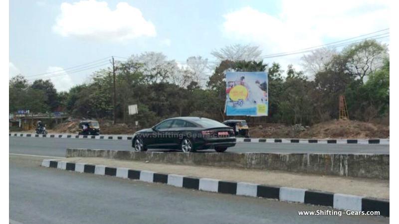 Next-gen Audi A5 test mule spotted