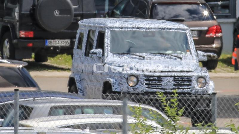 New Mercedes-Benz G-Class to be revealed next year
