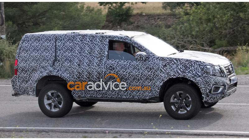 Nissan Navara SUV spotted doing the rounds