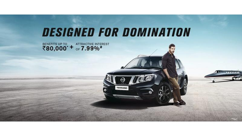 Nissan Terrano offered with various benefits this month