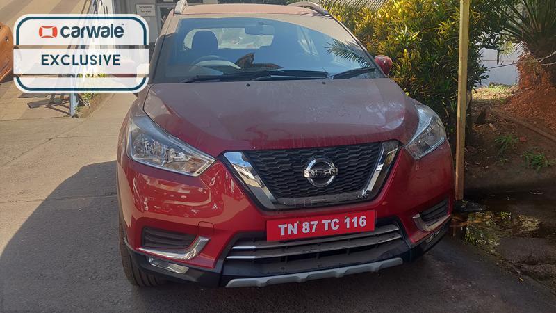 Nissan Kicks arrives at dealership ahead of launch