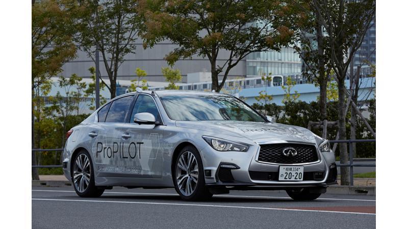 Nissan autonomous prototype tested on public roads in Tokyo
