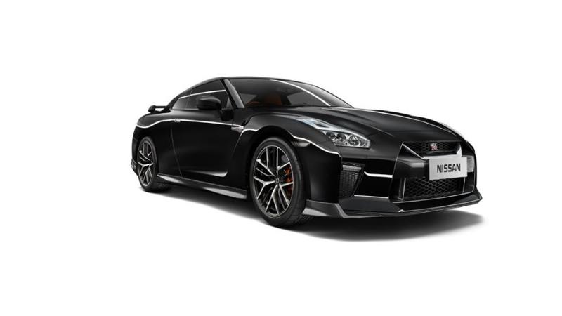 Nissan GT-R will be available in seven colour options