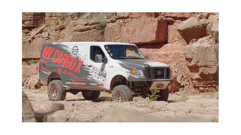 Nissan reveals the NV Cargo X off-road van