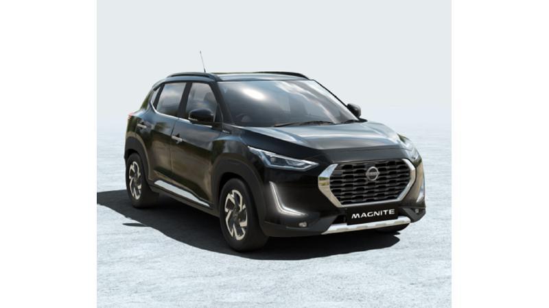 Nissan reveals colour options for Magnite sub-four metre SUV