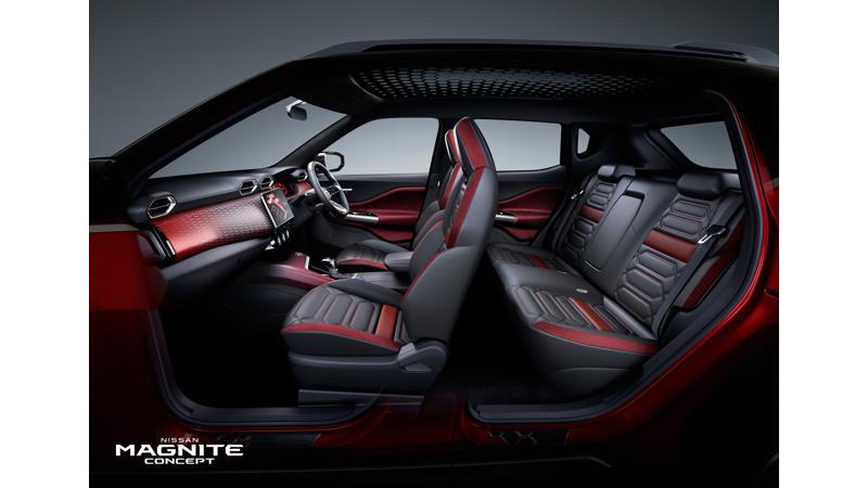 Nissan Magnite compact SUV concept interior details revealed