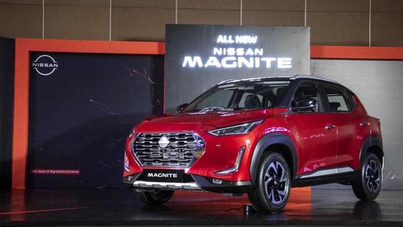 Nissan to launch Magnite in India on 26 November