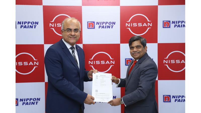 Nissan Motor ties up with Nippon Paint to supply Nax-Premila paint