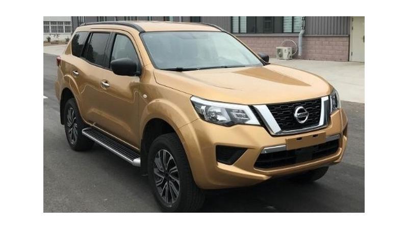2019 Nissan Terra spied undisguised