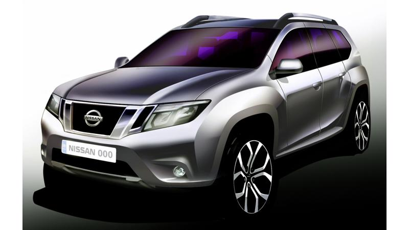 Cues of the X-Trail borrowed in the Nissan Terrano