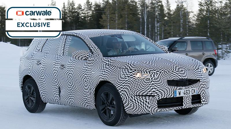 Opel Grandland X spied with extensive camouflage