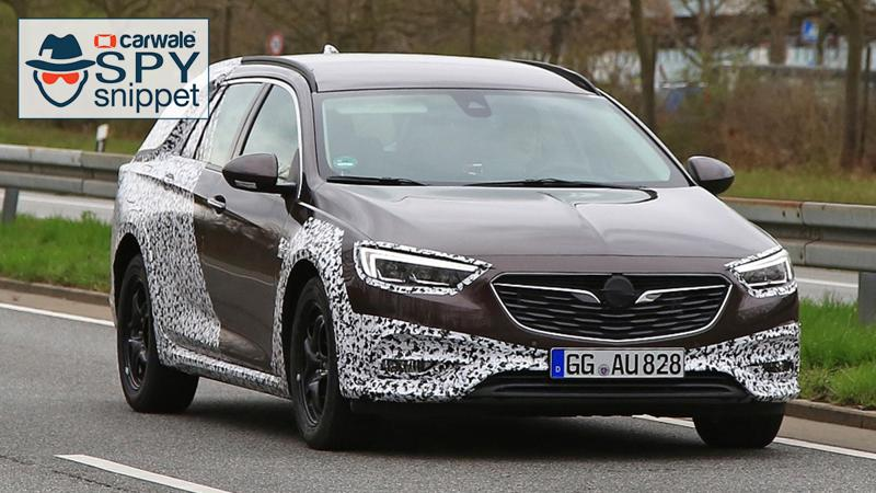 Opel Insignia Country Tourer spied